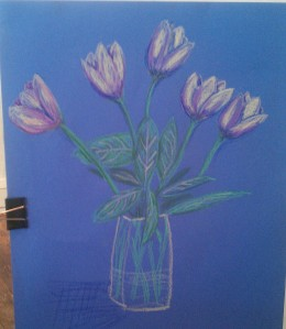And my pastel effort